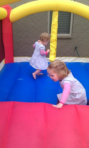 Bounce house day! by sweet mondays