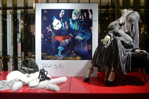 Vitrines Gucci - Paris, octobre 2011