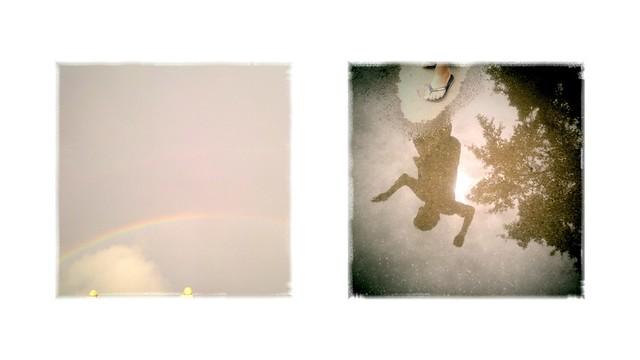 rainbow and jump