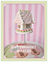 buttermint gables gingerbread house pin topper (Pinks & Needles (used to be Gigi & Big Red)) Tags: sculpture holiday sculpted 2011 etys gigiminor pinksandneedles pintoppers pintopper