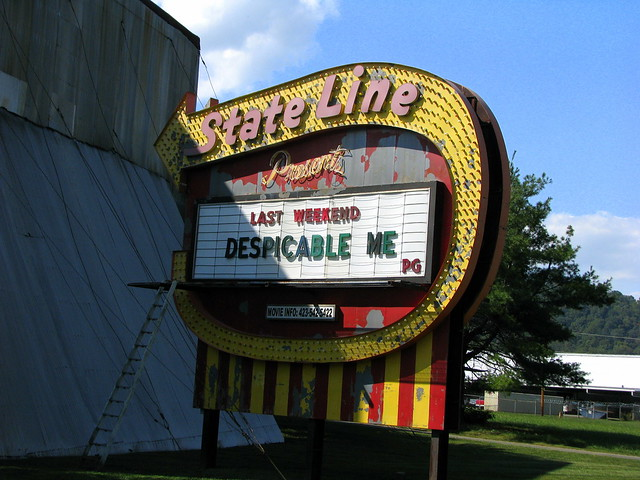 State Line Drive in