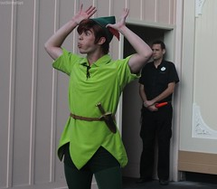 Silly Peter (ourdisneydays) Tags: silly disneyland peterpan disney peter soudnsational