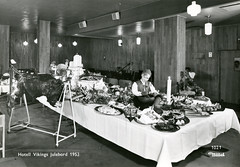 3. desember - December 3 (Riksarkivet (National Archives of Norway)) Tags: christmasparty jul julebord postkort hotelviking norskspisevognselskap