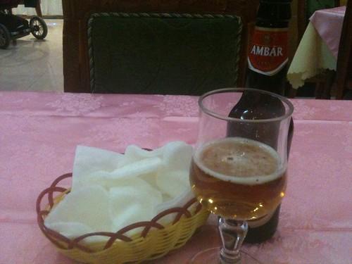 Zaragoza | Restaurante chino Mon | Cerveza | Pan chino