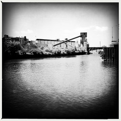 Goose Island in black and white (swanksalot) Tags: blackandwhite bw chicago iphone swanksalot sethanderson filmaobw