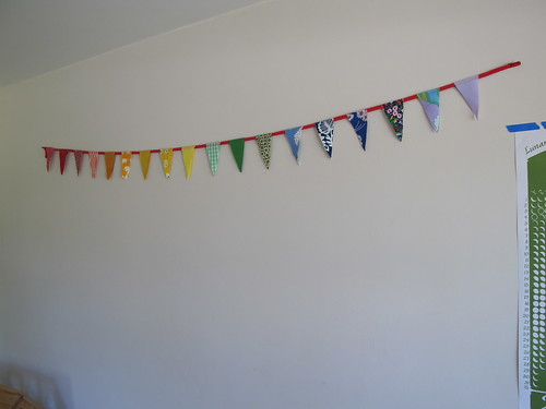 new rainbow order garland