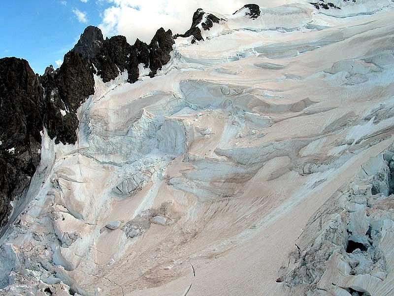 glacier de la Meije le 21 juin 2003 météopassion