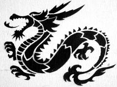 Black dragon (Marco Braun) Tags: white black dragon dragons blanche weiss bianco blanc schwarz draco drache drachen noire lindwurm drako drkon   drakn