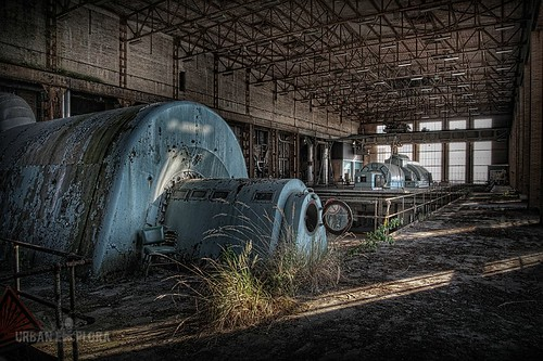 Abandoned powerplant ECVB
