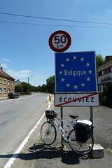 Entering Belgium