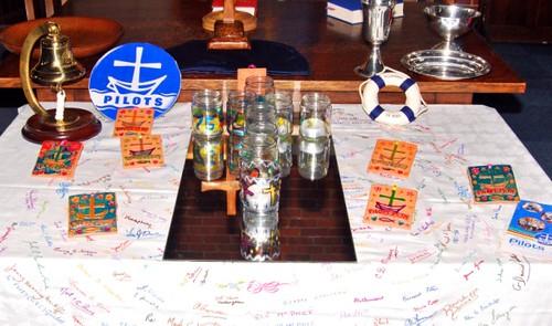 Pilots table