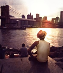 """Make Your Own 'THE END'"" (Sion Fullana) Tags: nyc sunset people urban sun newyork painterly water colors beauty hat skyline brooklyn poetry manhattan citylife streetshots beautifullight americanflag brooklynbridge eastriver tanktop noface dreamy july4th allrightsreserved newyorkers newyorklife cuteguy iphone likeapainting pictorialism urbanshots urbannewyork iphone4 dumbopark iphonephotography beyourownhero iphoneshots iphoneography iphoneographer sionfullana throughthelensofaniphone mobilephotogroup makeyourowntheend attheendofyourmovie"