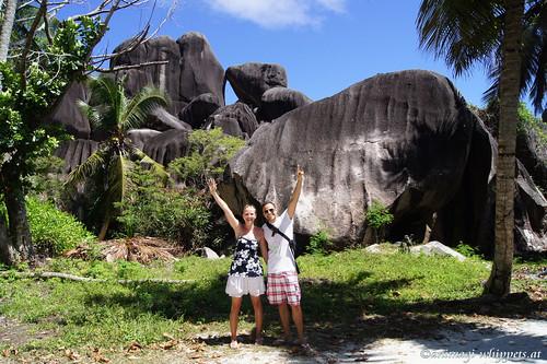 Seychellen: La Dique  (März 2011)