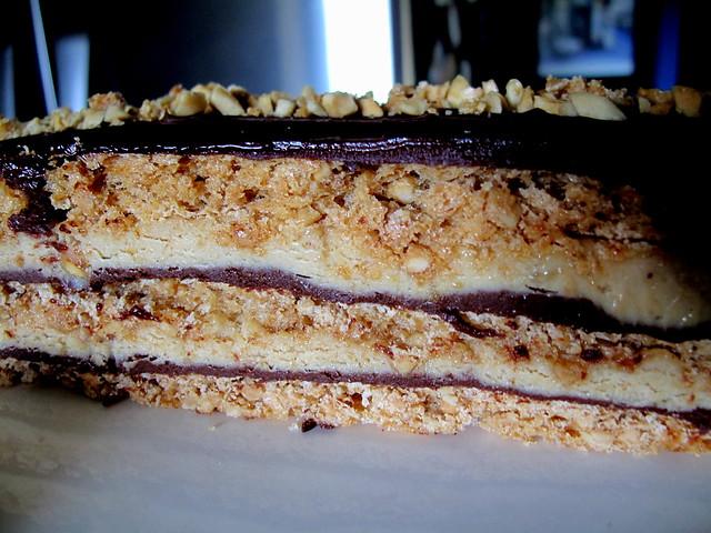 Chocolate Peanut Dacquoise