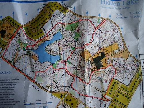 Hidden Lakes Route
