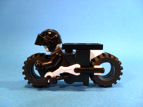 Purist Lego Lightcycle - White