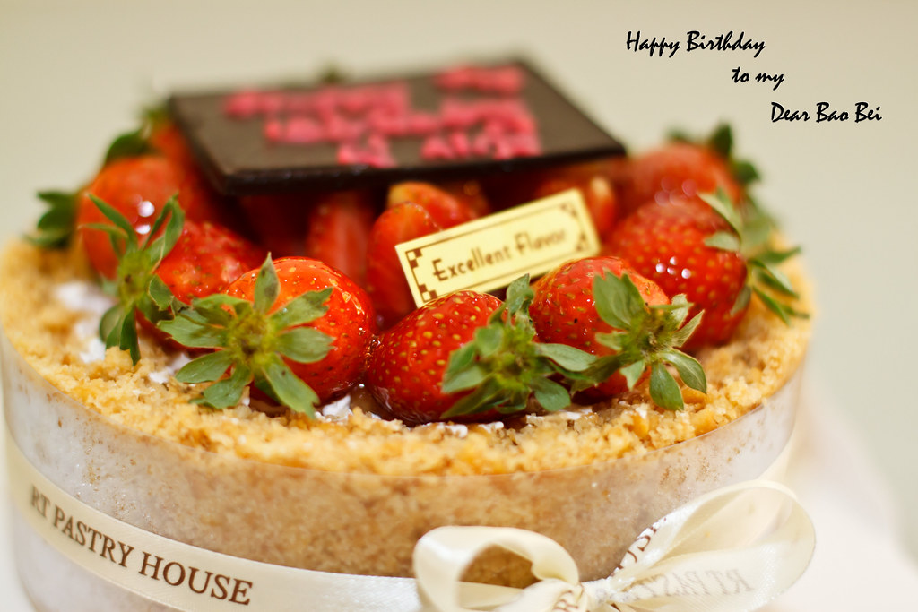 Strawberry Tart For My Girls 22nd Birthday Malaysian Flavours