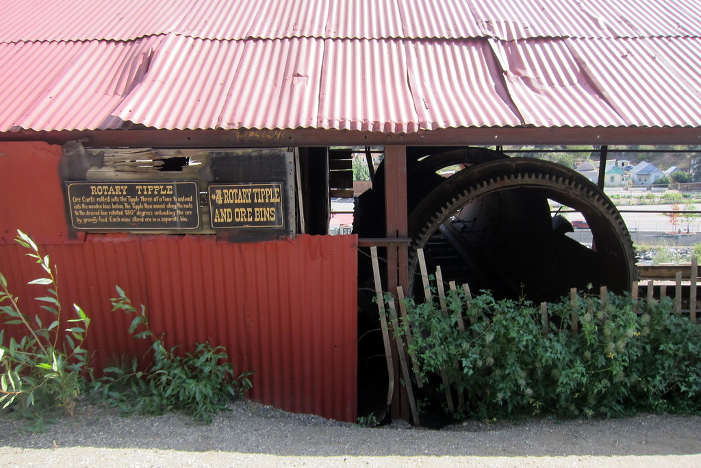 Colorado - Idaho Springs: Argo Gold Mine and Mill - Rotary Tipple and Ore Bins