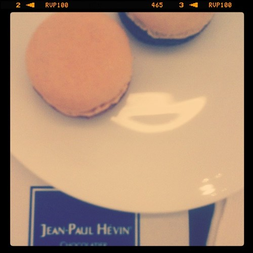 Macarons from Jean-Paul Hevin
