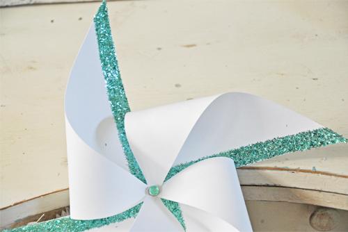 Glitter-Pinwheel