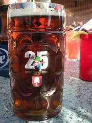 Winking Lizard October Glass of the Month (GearBoxTy) Tags: beer oktoberfest mug spaten winkinglizard nikoncoolpixs210