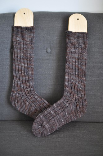 finished Rhinebeck socks!