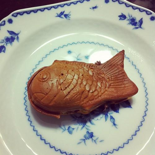 第一隻鯛魚燒。