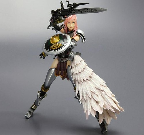 PlayArts Kai - Final Fantasy 13-2 - Lightning2