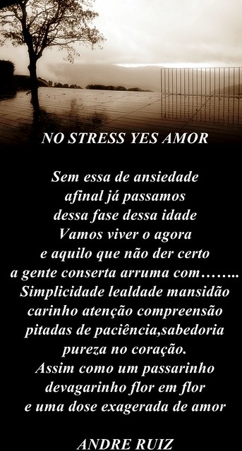 NO STRESS YES AMOR