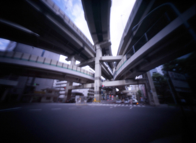 Tokyo Hakozaki Highway Junction