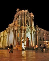 Duomo della notte (george974) Tags: piazza duomo notte siracusa ortigia