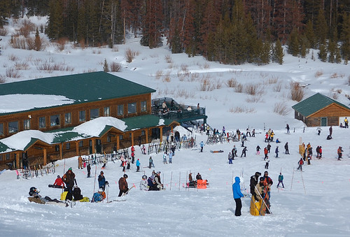 Snowy Range base area
