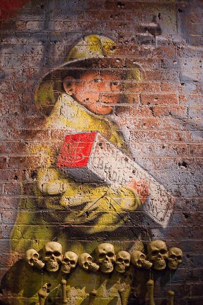 Fireman Mural and Halloween