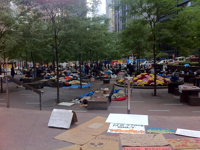 Zuccotti Park/Liberty Square September 25, 2011