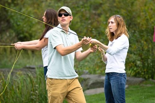 Robin Kadet at the Orvis Fly-Fishing School 2