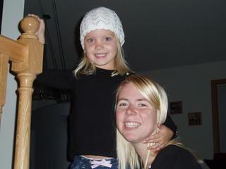 Maddy&Samara Fall 2005