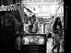 Turkish Delight, Istiklal Caddesi - Istanbul (adde adesokan) Tags: street blackandwhite bw woman white man black ice shop pen turkey asia asien europe candid trkiye cream streetphotography olympus istanbul trkei sweets sw schwarzweiss schuhe schwarz ep1 turkishdelight beyolu istiklalcaddesi streetphotographer m43 mft mirrorless microfourthirds theblackstar mirrorlesscamera streettogs addeadesokan