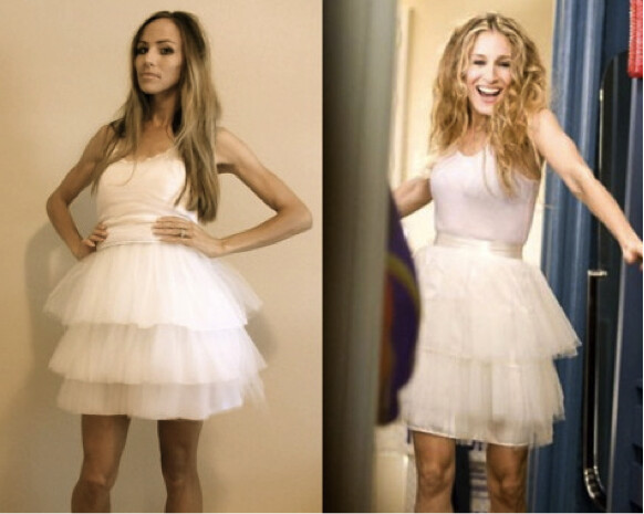 DIY Halloween: The Carrie Bradshaw Costume