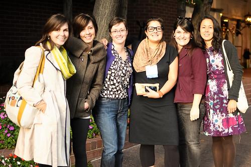 Katherine, Lindsay, Deedrie, Amanda, Kait & Karyn