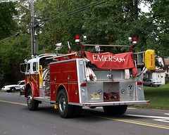 American LaFrance Engine 1, Emerson Fire Department, New Jersey (jag9889) Tags: red rescue fire centennial newjersey emerson anniversary group nj engine alf parade celebration company aid alpine american valley trucks 100 norwood northern department demarest firef