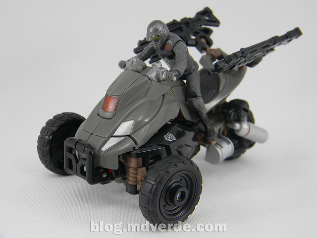 Transformers Backfire DotM Human Alliance - modo alterno