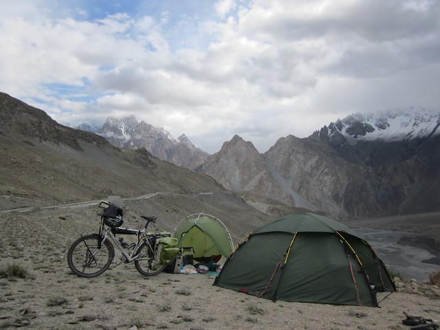 First wild camping site in Pakistan.