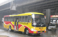 Marikina Auto Line Transport Corporation (Next Base II ) Tags: city bus nissan shot diesel location number chassis 800 quezon kamias metrorider fe6d pkb212n bodysantarosa enginenissan