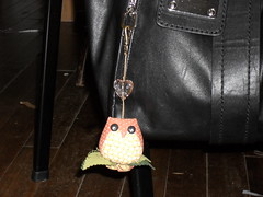 Chaveiro corujinha (gigicavinato) Tags: flores frutas natal gatos fuxico coruja patchwork avental cursos chaveiro almofadas promoo jogoamericano bonecosdepano enfeitedemaaneta bsicocostura