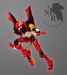 Evangelion: Unit 02 Final (retinence) Tags: anime robot eva neon factory lego 02 hero nerv fusion genesis bionicle mecha unit evangelion