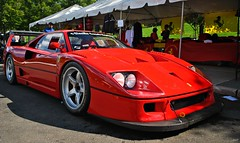 Le Mans *EXPLORED* (Andrew Waddell Photography) Tags: show new car race nj ferrari exotic mans alpine le jersey production lm limited concours rosso rare supercar picnik corsa f40 delegance hypercar alpineandwestchesterconcours