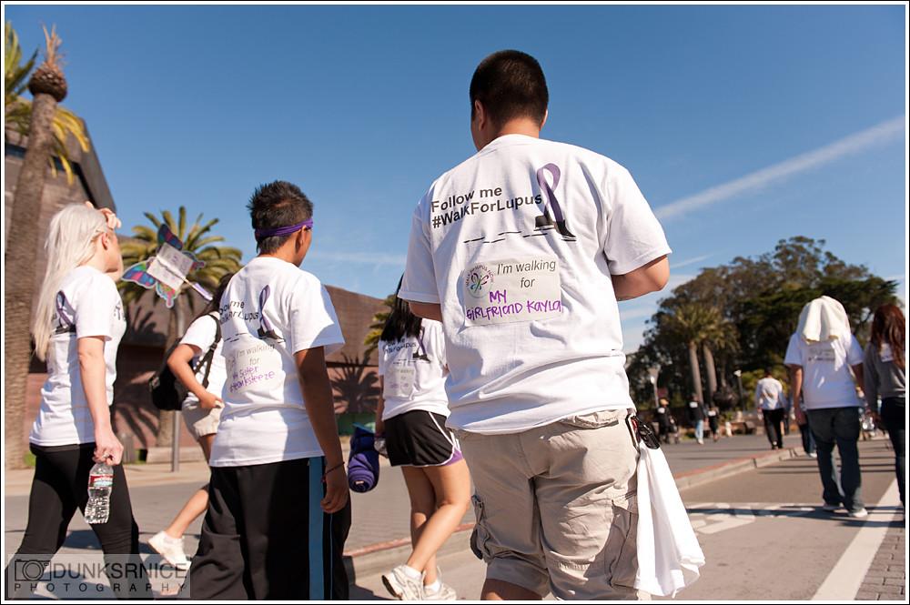 Kayla's lupus walk.