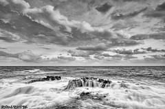 The power of the Sea (Carlos J. Teruel) Tags: sunset españa atardecer mar nikon paisaje murcia nubes cabodepalos d300 2011 tokina1116 xaviersam singhraynd3revgrad polarizadorlee105