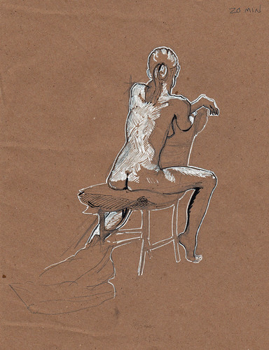 figure drawing 10.25 20 minutes