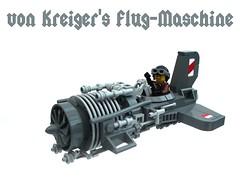 von Kreiger's Flug-Maschine (2 Much Caffeine) Tags: lego flyingmachine dieselpunk ironbuilder ifttt ridiculousstubbywings